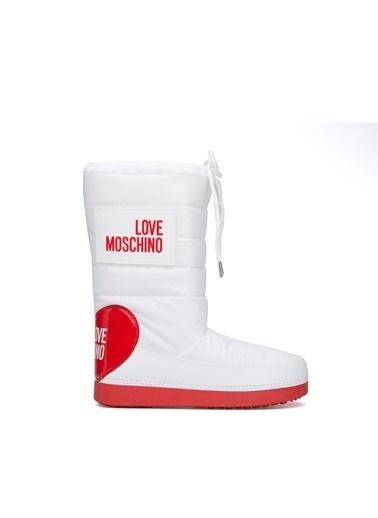 Love Moschino Bot Beyaz
